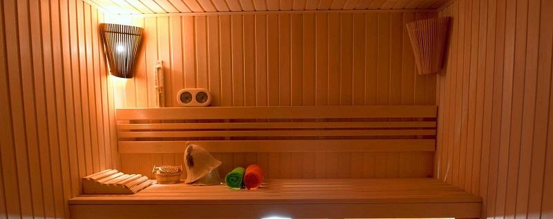 Sauna par le constructeur de piscine