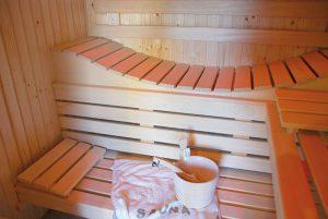 Sauna en Vendée