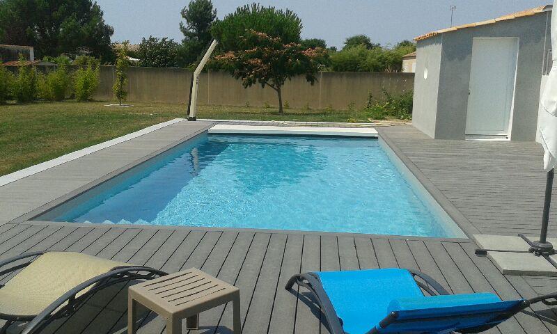 Une piscine privée à Challans
