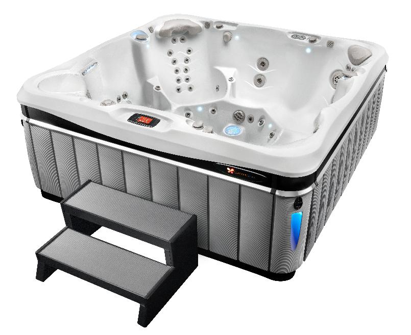 Un modèle de spa en vente