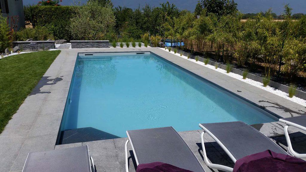 piscine membrane armée rectangulaire