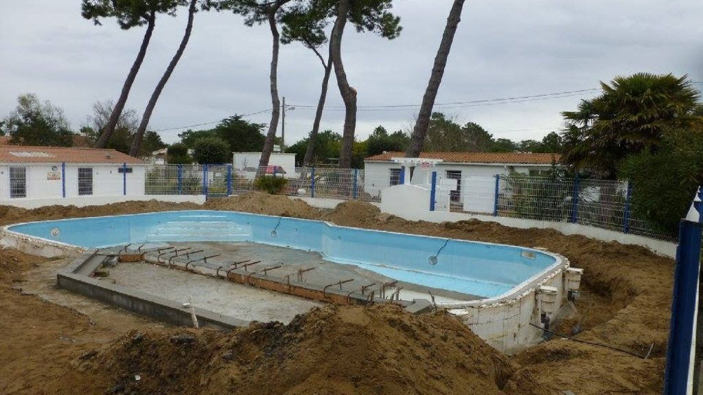 travaux rennovation piscine les sables d'olonne