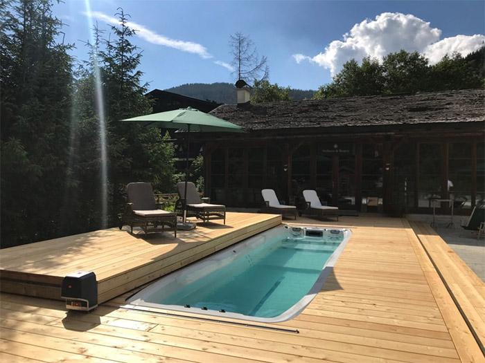 SPA haut de gamme avec terrasse