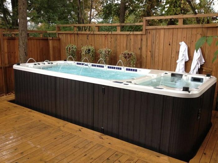 spa jacuzzi avec terrasse Nantes