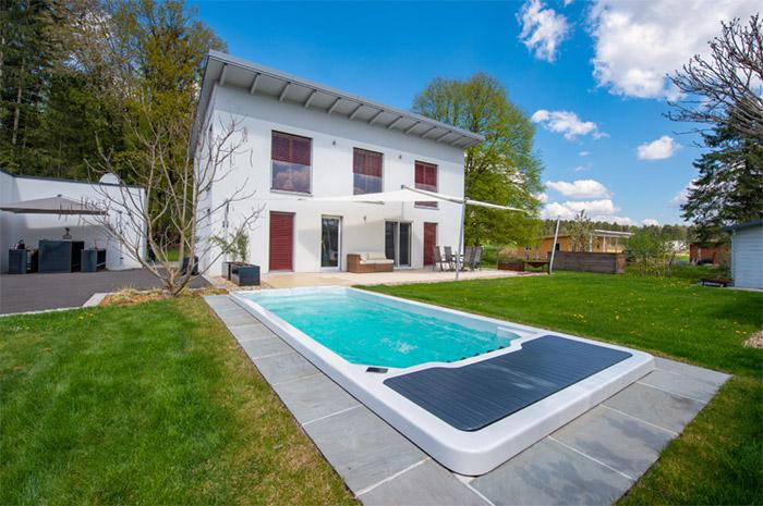 achat spa haut de gamme jardin La Rochelle