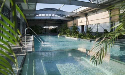 piscine et pataugeoire