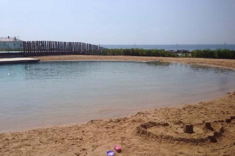 piscine à fond de sables 6
