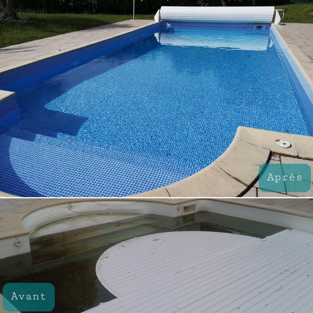 Rénovation d'une piscine 5.00 x 10.00 m