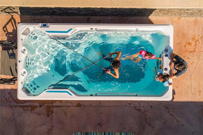vue aérienne de votre spa